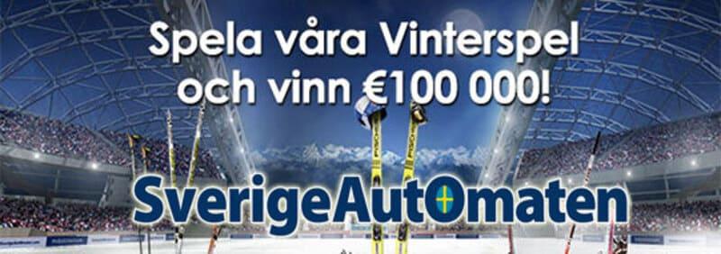 Sverigeautomaten vinterspel